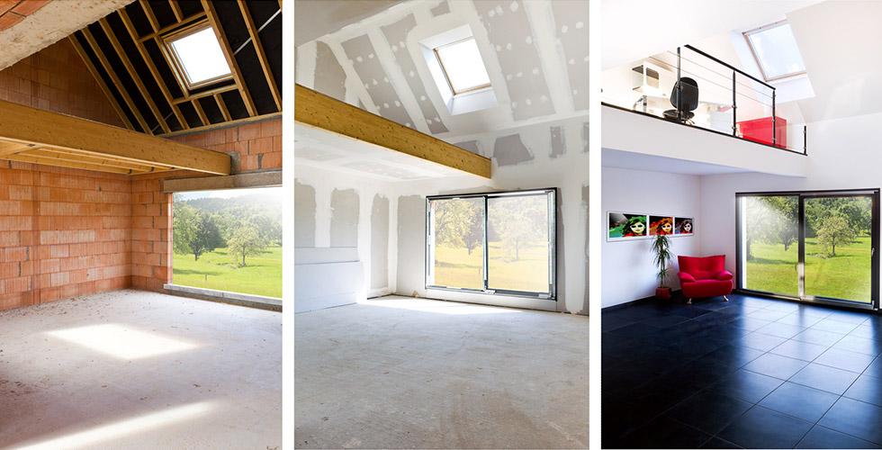 Rénovation maison et appartement à Pau (64)